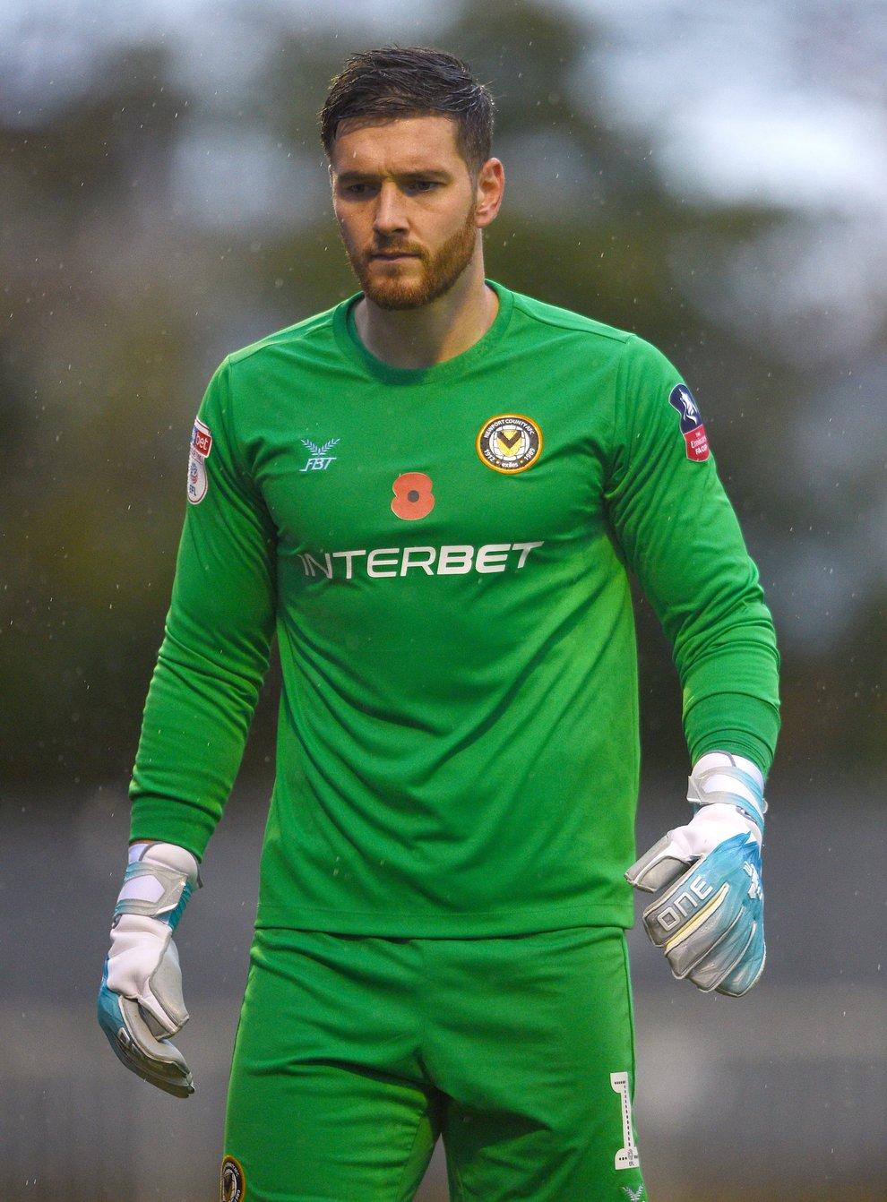 Joe Day has re-joined Newport