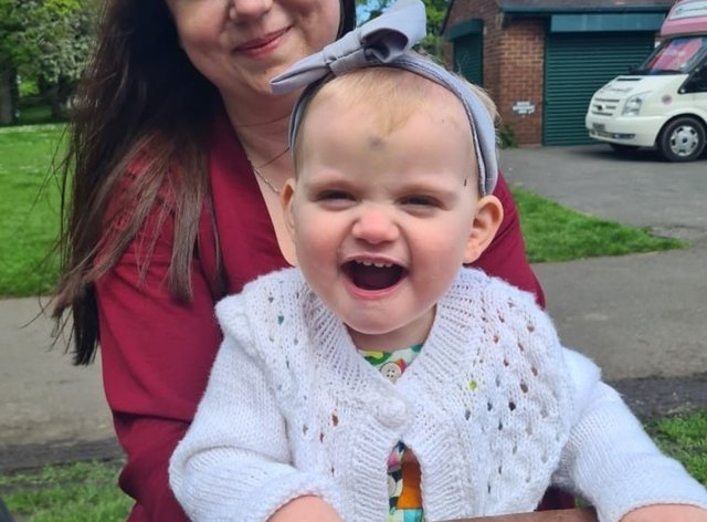 18-month-old Grace Westwood