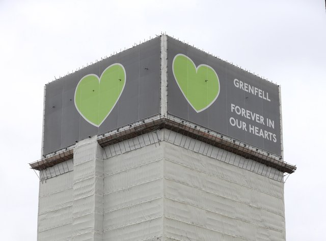 Grenfell Tower stock