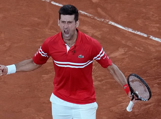 Novak Djokovic is looking to finish the job in the final after defeating Rafael Nadal