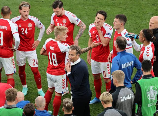 Denmark boss Kasper Hjulmand praised the unity of his squad