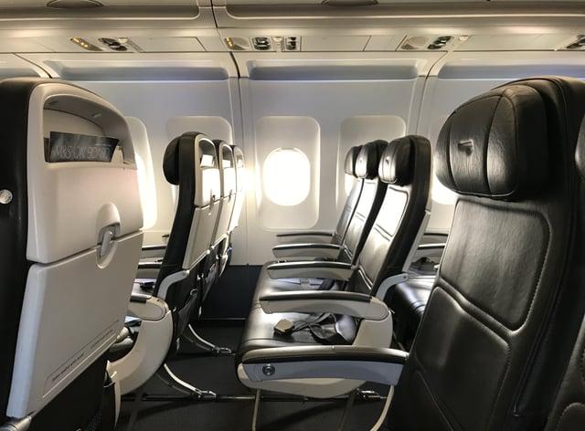<p>Plane cabin</p>