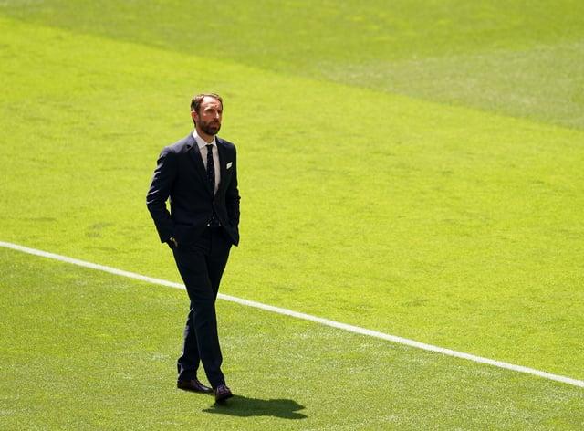 Gareth Southgate has named his side