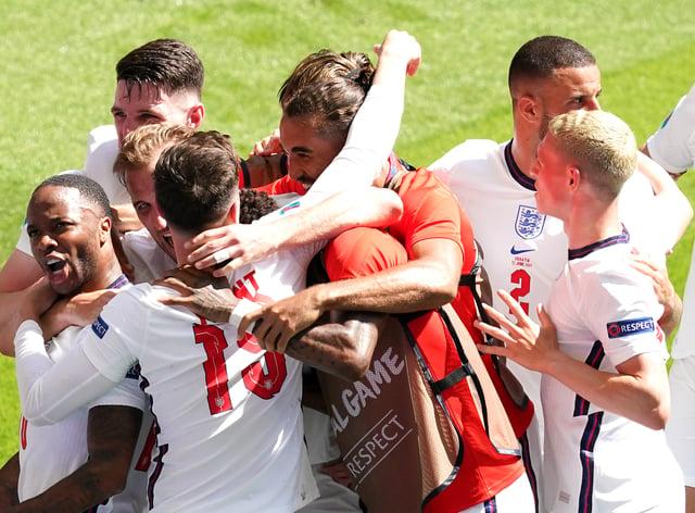 England v Croatia – UEFA Euro 2020 – Group D – Wembley Stadium