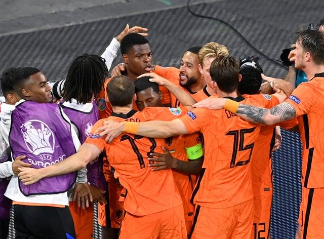 Netherlands Ukraine Euro 2020 Soccer