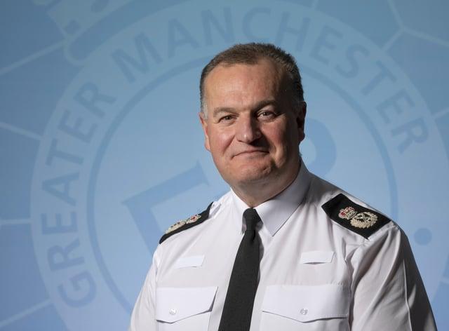 GMP Chief Constable