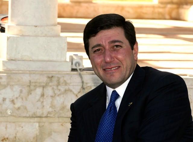 Dr Bassem Awadallah, then director of the office of King Abdullah II of Jordan (Nader Daoud/AP)