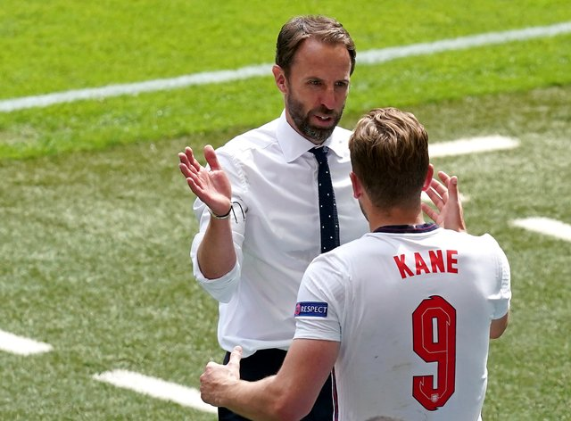 Gareth Southgate was delighted by the team effort on Sunday