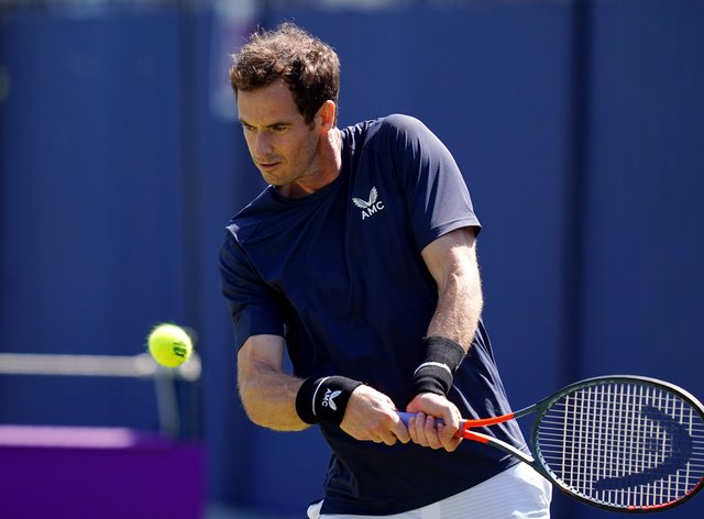 Andy Murray is back at Queen's Club