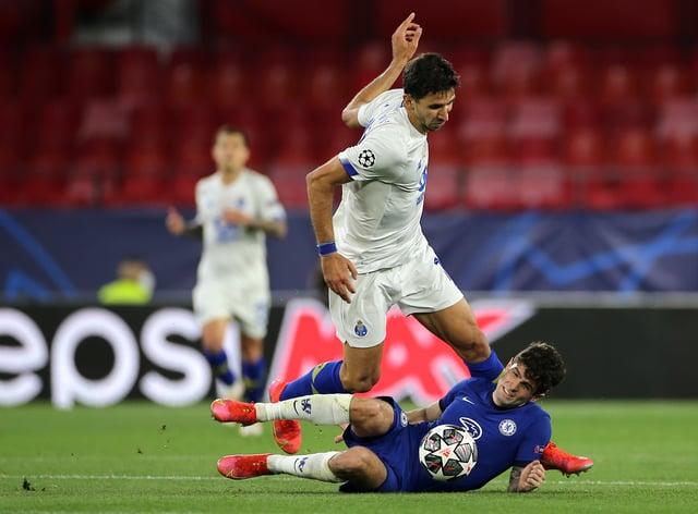 On-loan Liverpool midfielder Marko Grujic in action for Porto