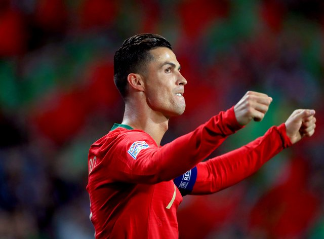 Portugal skipper Cristiano Ronaldo will become the first man to play at five Euros tournaments
