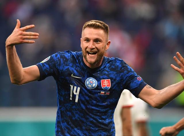 Milan Skriniar scored the winner as Slovakia stunned Poland