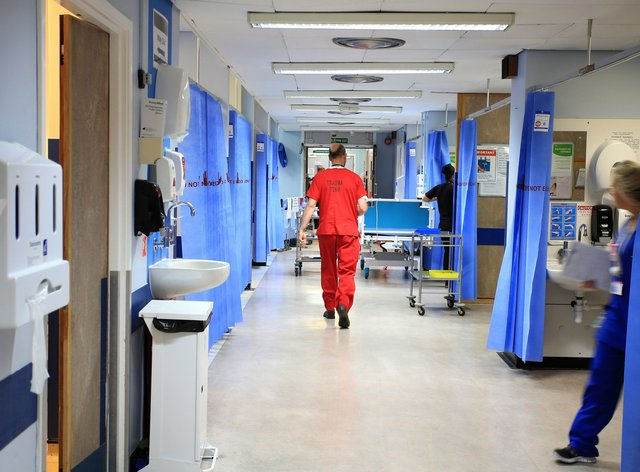 Hospital business rates
