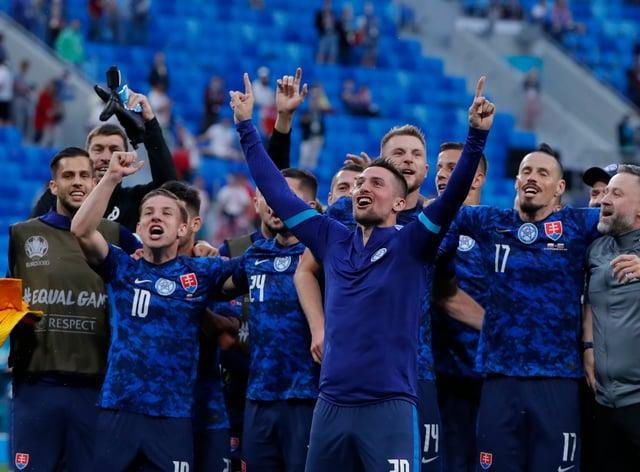 Slovakia claimed a famous win over Poland