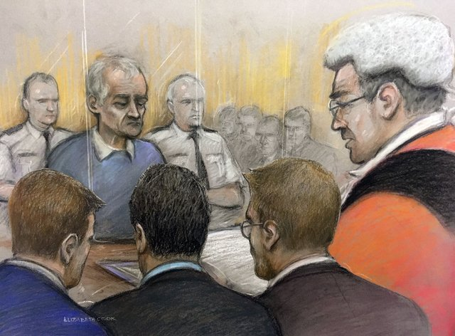 Barry Bennell in court