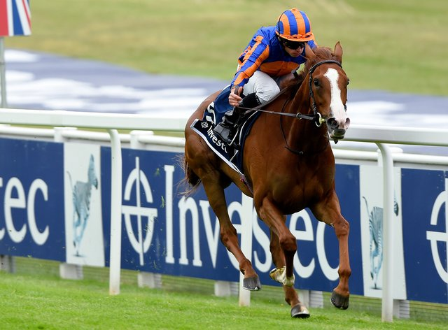 Love cruised to victory in the Oaks last year