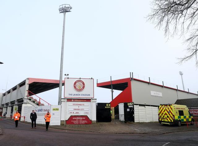 Stevenage v Swansea City – Emirates FA Cup – Third Round – Lamex Stadium