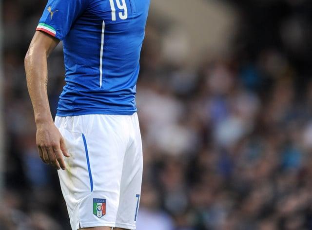 Italy's Leonard Bonucci has been impressed by England
