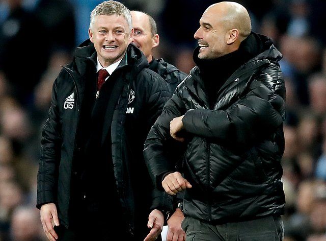 <p>The fixture list has thrown up different degrees of difficulty for Manchester United and Manchester City</p>