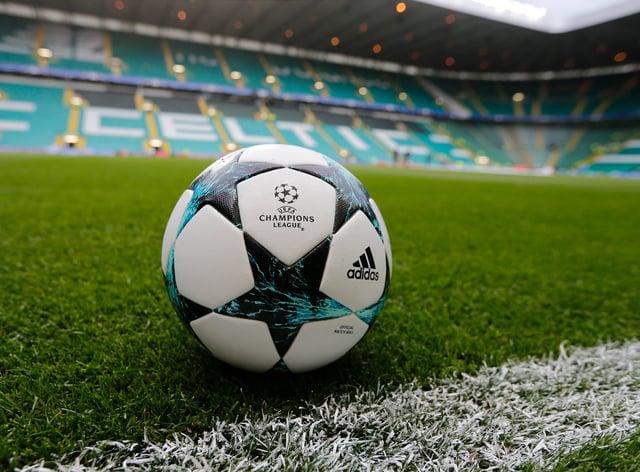 A Champions League football