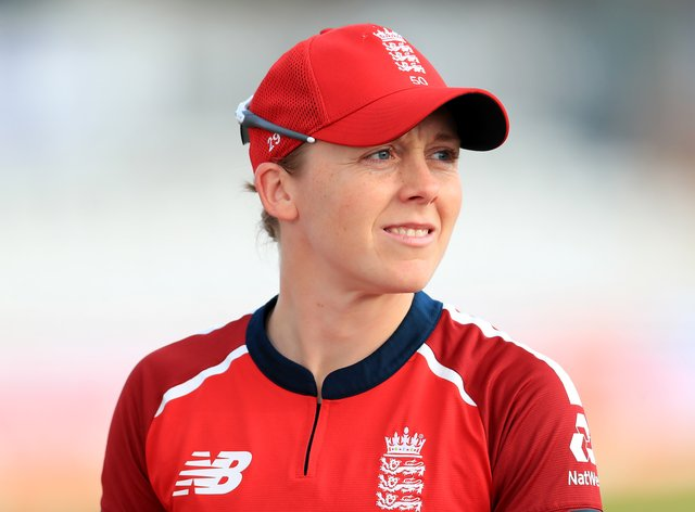 Heather Knight admitted she was frustrated to fall agonisingly short of a century