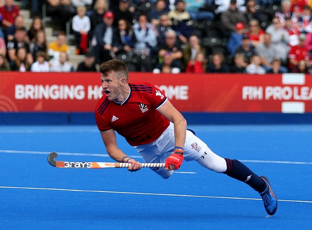 Great Britain v Argentina – FIH Pro League – Lee Valley Hockey and Tennis Centre