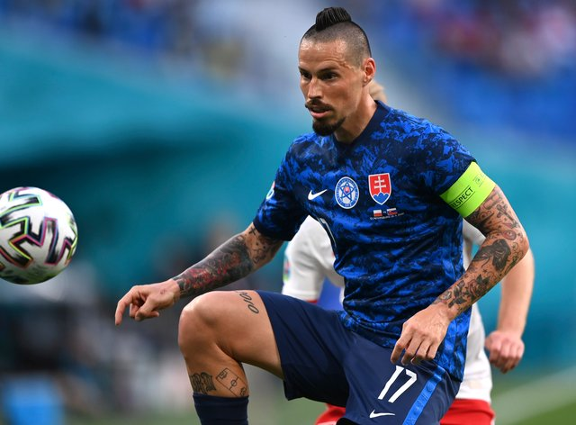 Marek Hamsik is not getting carried away by Slovakia's fine start at Euro 2020