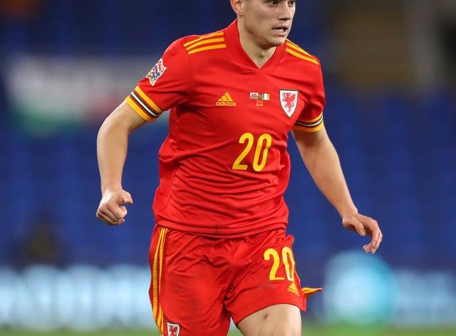 Wales winger Daniel James