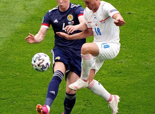 Scotland's Scott McTominay in action