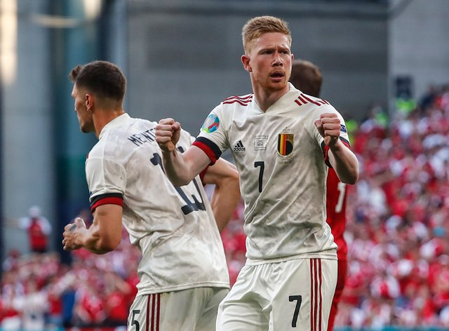 Kevin De Bruyne starred from the bench as Belgium booked their place in the last 16 at Euro 2020