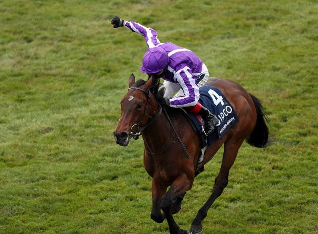 Mother Earth won the Qipco 1000 Guineas at Newmarket