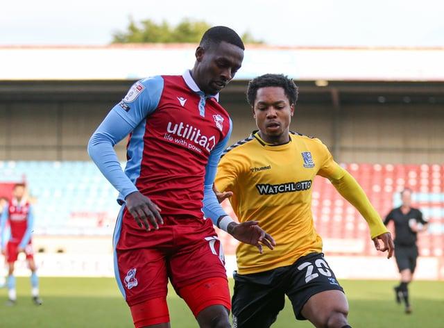 Abo Eisa, left, has joined Bradford