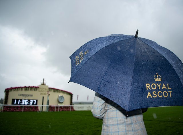 Heavy overnight rain brought a significant change in the going for day four at Royal Ascot