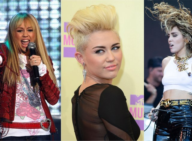 Composite of Miley Cyrus