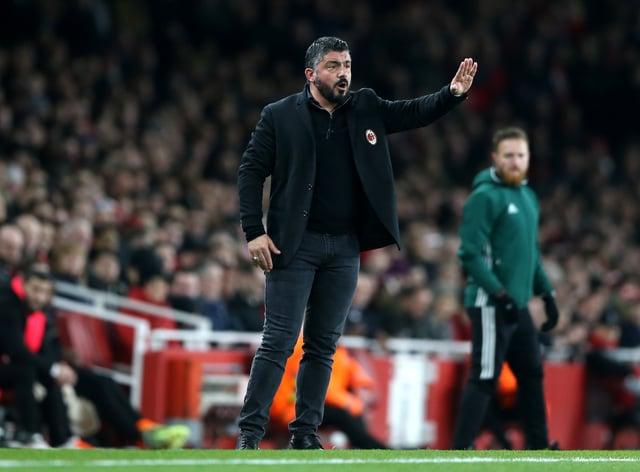 Gennaro Gattuso will not become Tottenham's new head coach