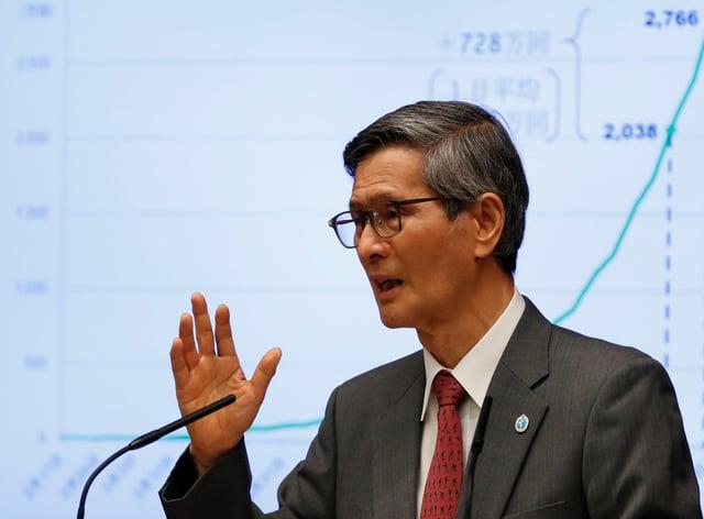Dr Shigeru Omi, Japan's top coronavirus advisor