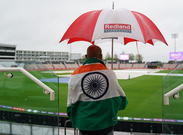 Day one of the World Test Championship final was a washout