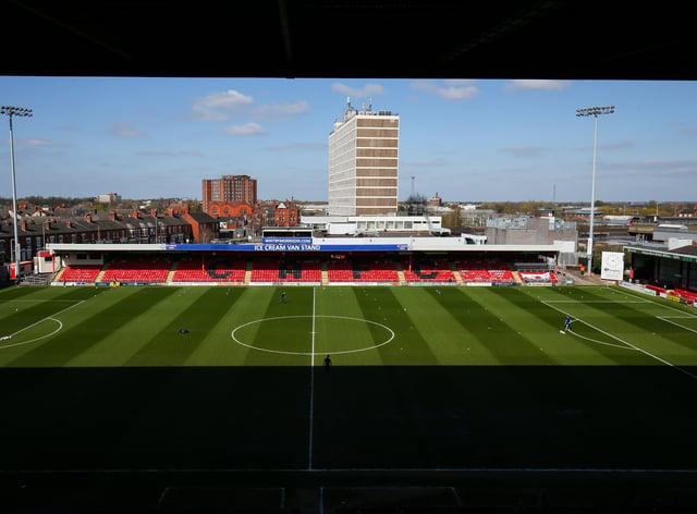 Crewe Alexandra's stadium Gresty Road