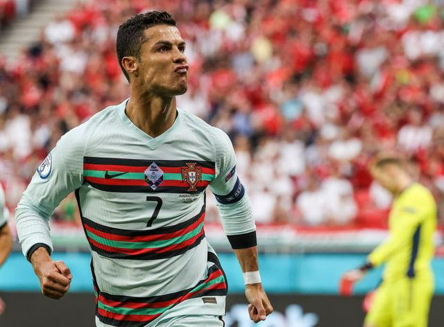 Cristiano Ronaldo scored twice in Portugal's Euro 2020 opener against Hungary