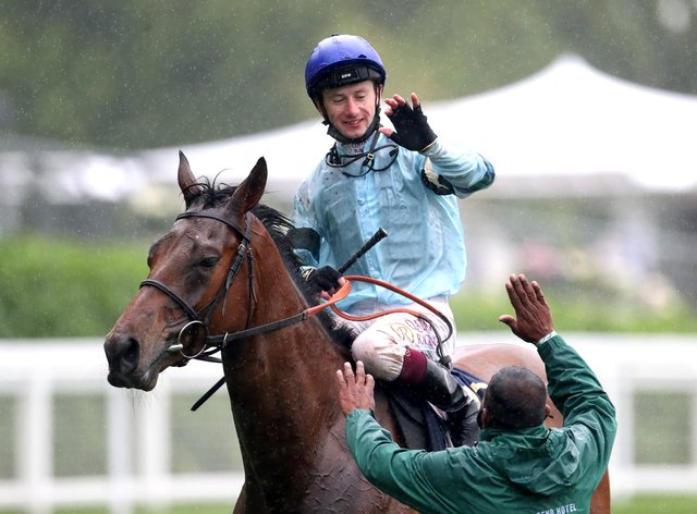 Oisin Murphy is leading rider going into the final day of Royal Ascot