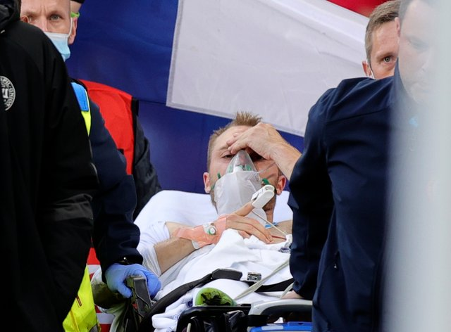 Christian Eriksen is out of hospital after having a defibrillator implant fitted