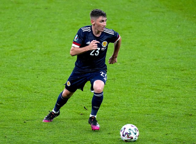 Billy Gilmour was named man of the match for Scotland