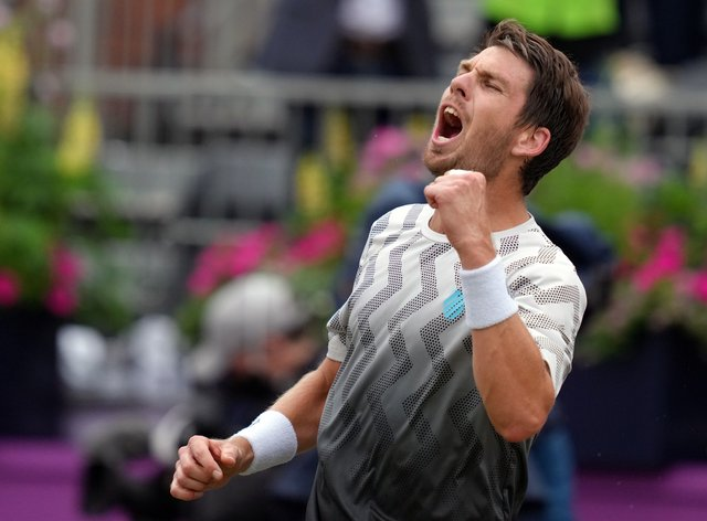 Cameron Norrie is through the the final at Queen's Club