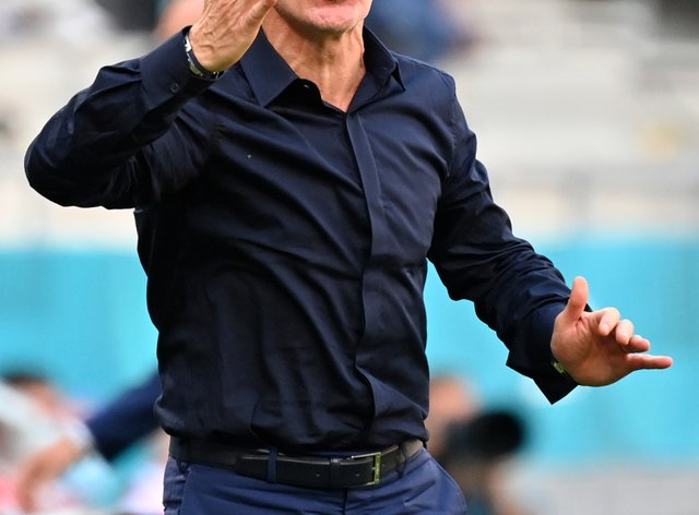 France manager Didier Deschamps looked for positives after being held to a draw by Hungary