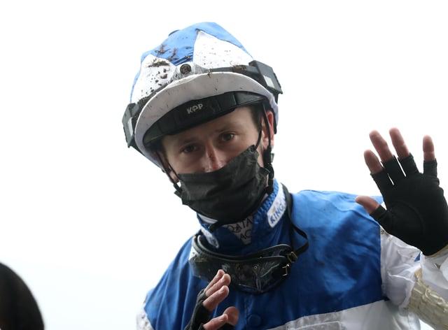 Oisin Murphy celebrates being crowned top jockey at Royal Ascot