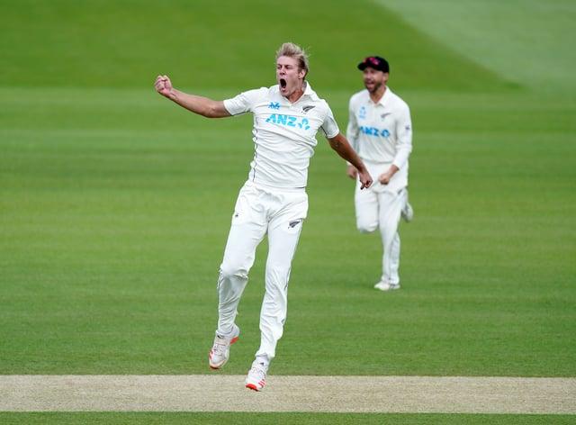 New Zealand's Kyle Jamieson impressed against India