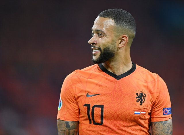 Memphis Depay joined Barcelona on Saturday but has been criticised for his Euro 2020 performances so far