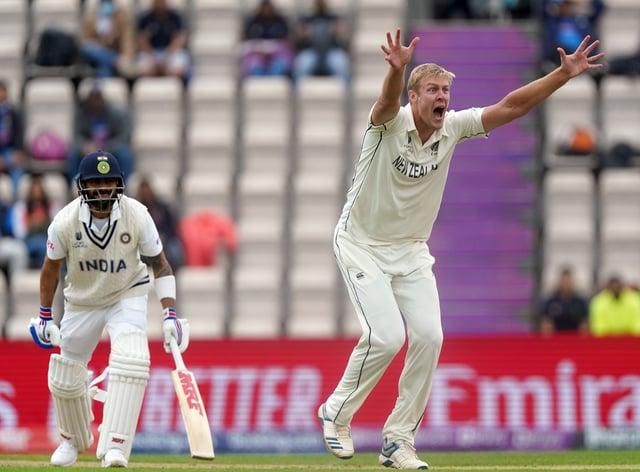 Kyle Jamieson impressed against India