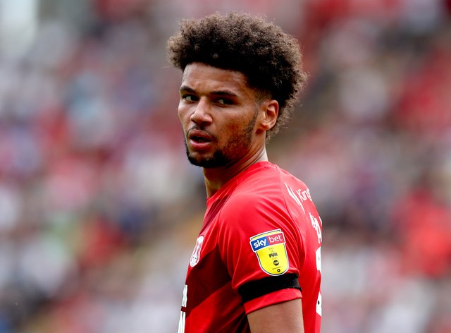 Lee Angol in action for Leyton Orient