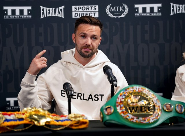 Scottish fighter Josh Taylor is determined to make more boxing history